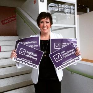 Sara Kemetter, Socialdemokraterna på Åland